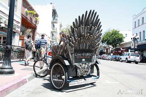 Game of Thrones Riksha