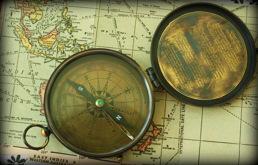 Map and compass_Calsidyrose